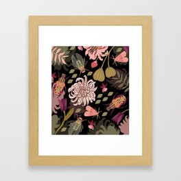 Boho Bugs Framed Art Print