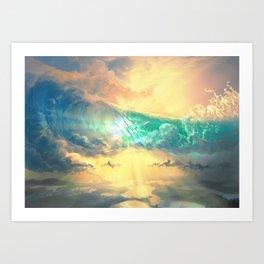 Sky Breaker Art Print