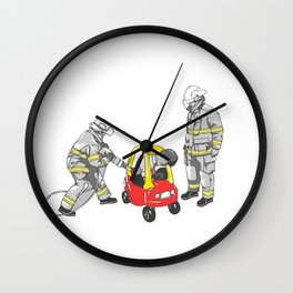No longer a child Wall Clock