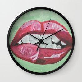 """""""Lipz"""", 2016 Wall Clock"""