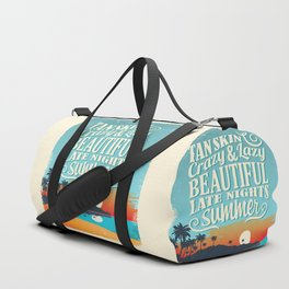 Crazy & lazy Summer Duffle Bag
