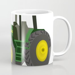 Green Farm Tractor Coffee Mug