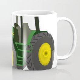Green Farm Tractor Coffee Mug