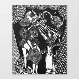 The Recalcitrant Canvas Print