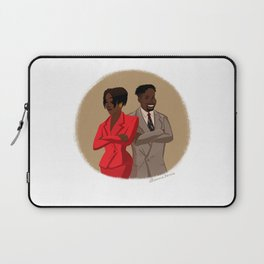 Maxine Shaw and Kyle Barker / Living Single Laptop Sleeve