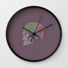 Shadow In The Rose Garden Wall Clock