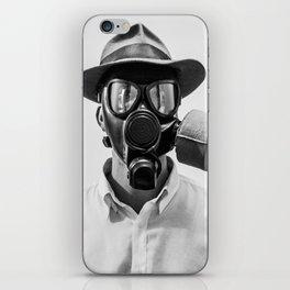 Gas Mask iPhone Skin