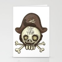 pirate Stationery Cards featuring pirate by adi katz