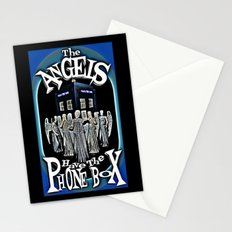The Angels Have The Phonebox! | Dr. Who Stationery Cards