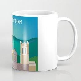 Charleston, West Virginia - Skyline Illustration by Loose Petals Coffee Mug