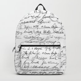 Literary Giants Pattern II Backpack