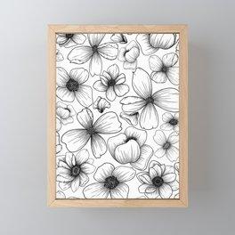 Floral Wallpaper: 1 Framed Mini Art Print