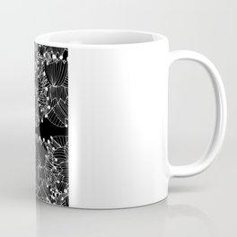 Black Tulip Coffee Mug