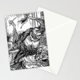 Los crímenes de la calle Morgue, POE Stationery Cards