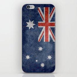 The National flag of Australia, Vintage version iPhone Skin