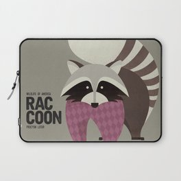Hello Raccoon Laptop Sleeve
