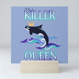 She's a Killer Queen Mini Art Print