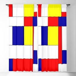 Mondrian #34 Blackout Curtain