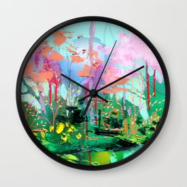 Spring's Promise Wall Clock