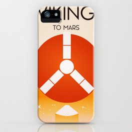 Viking To Mars iPhone Case