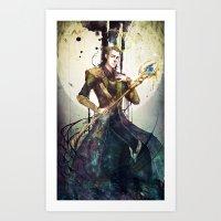 loki Art Prints featuring Loki by Mony