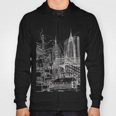 New York B&W (Dark T-shirt Version) Hoody