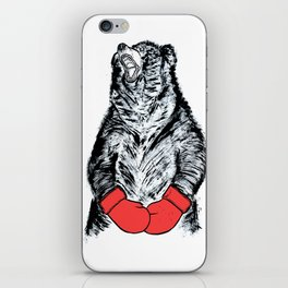 Boxing Bear iPhone Skin