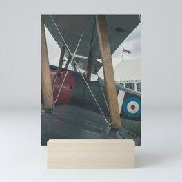 Biplane. Mini Art Print