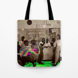 the Tempo of Bottoms up Tote Bag