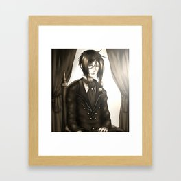 Sebastian Michaelis - The Watchdog's Butler Framed Art Print