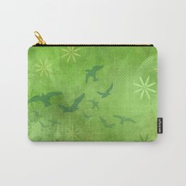 Green Summer Grass Carry-All Pouch
