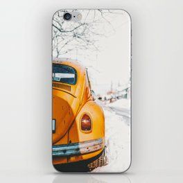 Yellow Taxi (Color) iPhone Skin