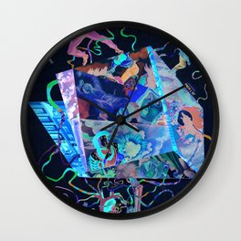 "Enemies Are Killing Me ""Slow"" Wall Clock"