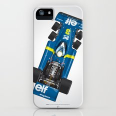 Outline Series N.º3, Jody Scheckter, Tyrrell-Ford 1976 Slim Case iPhone (5, 5s)
