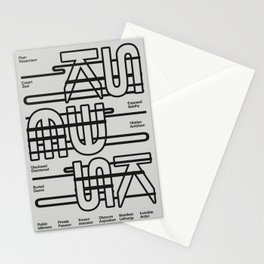 Plain Pessimism Stationery Cards