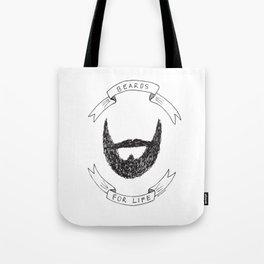 Beards For Life Tote Bag