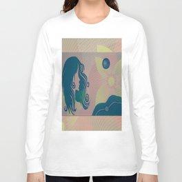 She Moon Long Sleeve T-shirt