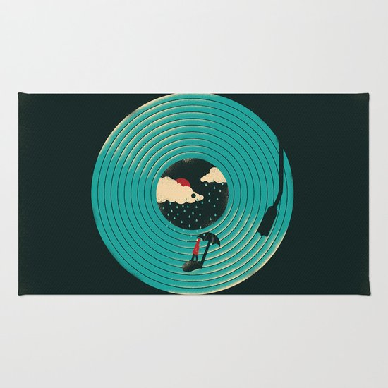 Songs for a Rainy Day Rug