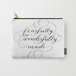 Fearfully & wonderfully made Carry-All Pouch
