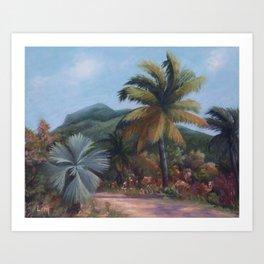 Souvenir from Mauritius Art Print