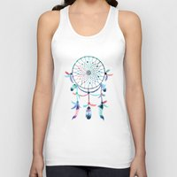 dream catcher Tank Tops featuring Dream Catcher by General Design Studio