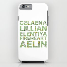 The many names of Aelin Galathynius iPhone Case