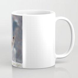 FALLOW DEER ON SNOWY GROUND Coffee Mug
