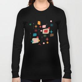 Atomic pattern Long Sleeve T-shirt