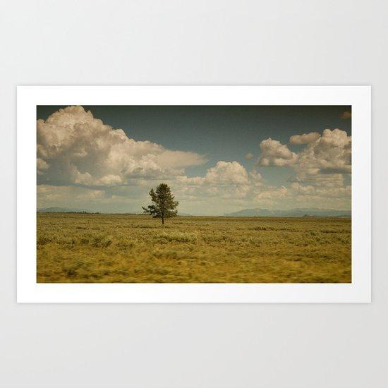 Loner II Art Print
