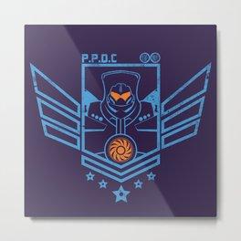 P.P.D.C. Metal Print