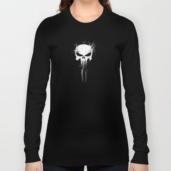 skulls pattern Long Sleeve T-shirt