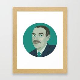 Queer Portrait - John Maynard Keynes Framed Art Print