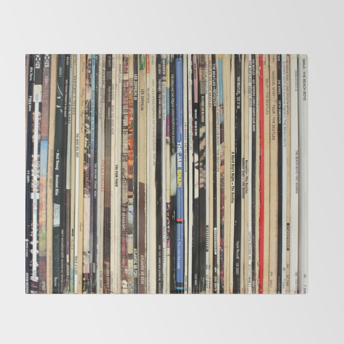 Classic Rock Vinyl Records Decke