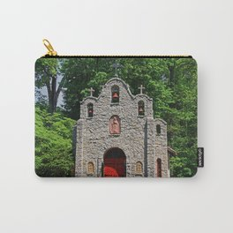Lourdes University-  Portiuncula  Chapel in the Spring I Carry-All Pouch